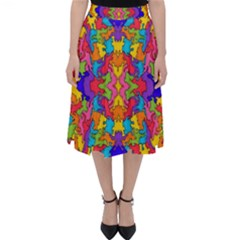 Artwork By Patrick Pattern 19 Folding Skater Skirt