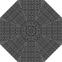 Black And White Tribal Print Hook Handle Umbrellas (medium)