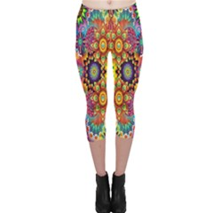 Artwork By Patrick Pattern 22 Capri Leggings