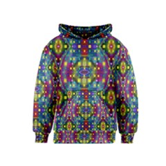 Artwork By Patrick Pattern 23 Kids  Pullover Hoodie