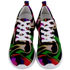 Hot Abstraction With Lines 1 Men s Lightweight Sports Shoes