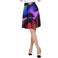 Hot Abstraction With Lines 2 A Line Skirt