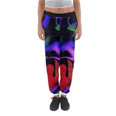 Hot Abstraction With Lines 2 Women s Jogger Sweatpants