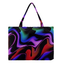 Hot Abstraction With Lines 2 Medium Tote Bag