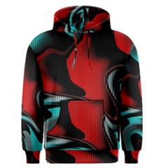 Hot Abstraction With Lines 3 Men s Pullover Hoodie