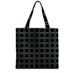 Pattern 29 Zipper Grocery Tote Bag