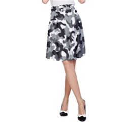 Camouflage 02 A Line Skirt