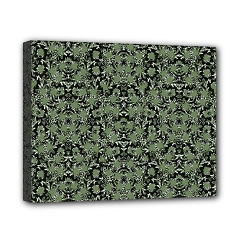 Camouflage Ornate Pattern Canvas 10  X 8