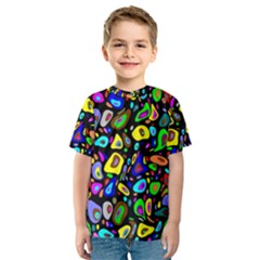 Artwork By Patrick Pattern 30 Kids  Sport Mesh Tee
