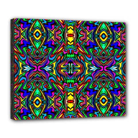 Artwork By Patrick Pattern 31 Deluxe Canvas 24  X 20