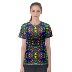 Artwork By Patrick Pattern 31 Women s Sport Mesh Tee