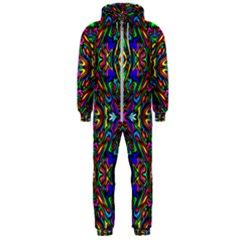 Artwork By Patrick Pattern 31 Hooded Jumpsuit (men)