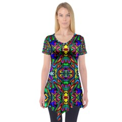 Artwork By Patrick Pattern 31 Short Sleeve Tunic