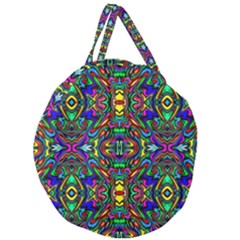 Artwork By Patrick Pattern 31 Giant Round Zipper Tote