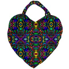 Artwork By Patrick Pattern 31 Giant Heart Shaped Tote