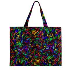 Artwork By Patrick Pattern 31 1 Zipper Mini Tote Bag