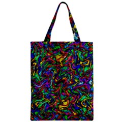 Artwork By Patrick Pattern 31 1 Zipper Classic Tote Bag