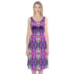 Pattern 32 Midi Sleeveless Dress