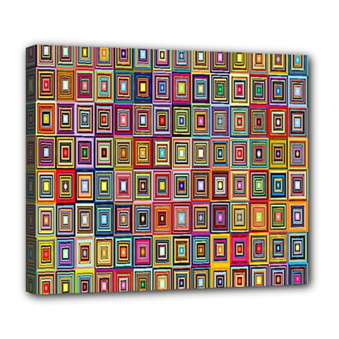 Artwork By Patrick Pattern 33 Deluxe Canvas 24  X 20