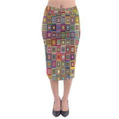 Artwork By Patrick Pattern 33 Midi Pencil Skirt