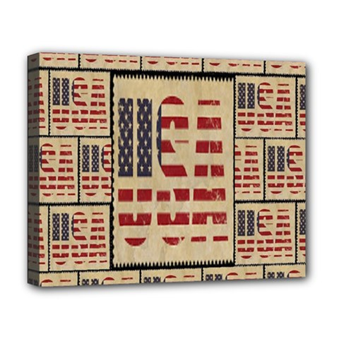 Usa Deluxe Canvas 20  X 16