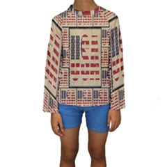 Usa Kids  Long Sleeve Swimwear