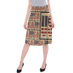 Usa Midi Beach Skirt