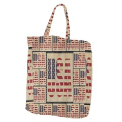 Usa Giant Grocery Zipper Tote