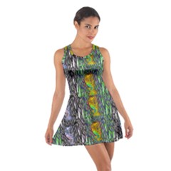 May Be A Woman In Manga Fire Cotton Racerback Dress