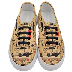55 Chevy Women s Classic Low Top Sneakers