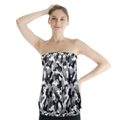 Camouflage 02 Strapless Top