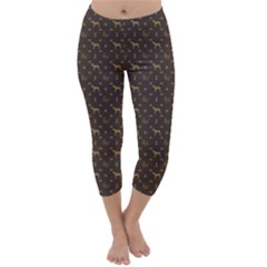 Louis Weim Luxury Dog Attire Capri Winter Leggings