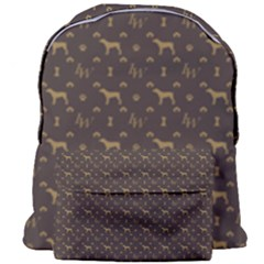 Louis Weim Luxury Dog Attire Giant Full Print Backpack