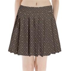 Louis Dachshund  Luxury Dog Attire Pleated Mini Skirt