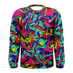 Pattern 34 Men s Long Sleeve Tee