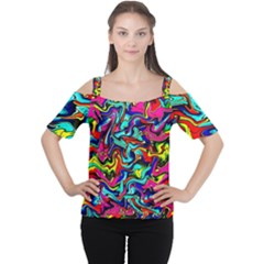 Pattern 34 Cutout Shoulder Tee