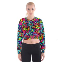 Pattern 34 Cropped Sweatshirt