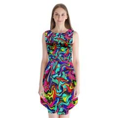 Pattern 34 Sleeveless Chiffon Dress