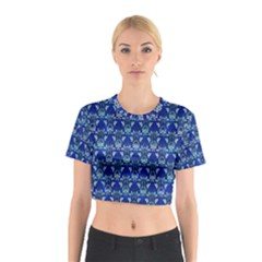 Artwork By Patrick Victorian Cotton Crop Top