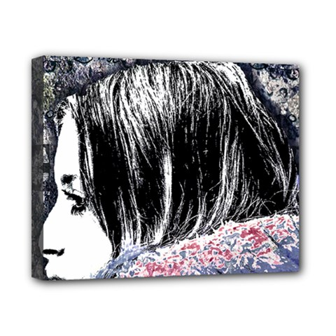 Grunge Graffiti Style Women Poster Canvas 10  X 8