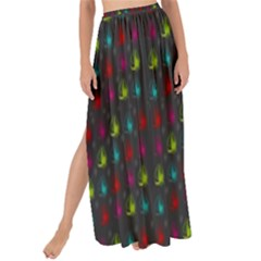 Roses Raining For Love  In Pop Art Maxi Chiffon Tie Up Sarong