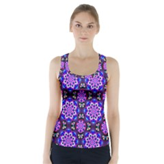 Colorful 3 Racer Back Sports Top