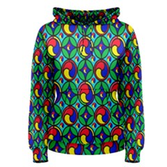 Colorful 4 Women s Pullover Hoodie