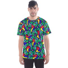 Colorful 4 1 Men s Sports Mesh Tee