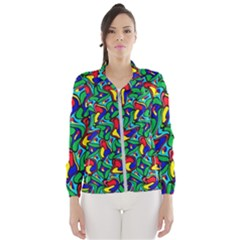 Colorful 4 1 Wind Breaker (women)
