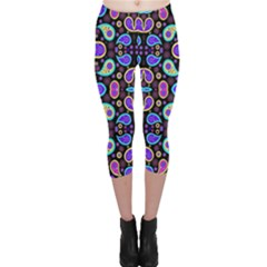 Colorful 5 Capri Leggings