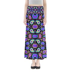 Colorful 5 Full Length Maxi Skirt