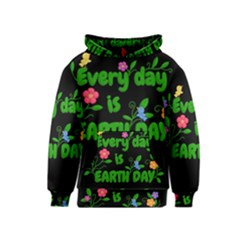 Earth Day Kids  Pullover Hoodie