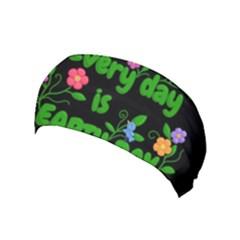 Earth Day Yoga Headband