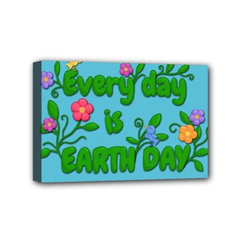 Earth Day Mini Canvas 6  X 4